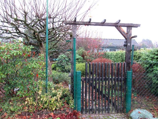 Eingang vom Kleingarten